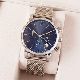 Three needles waTch online shopping - Luxury Men s Watch Leisure Calendar BOSS Quartz Watch ROYAL OAK Three Eyes Six Needles All functions can be operated
