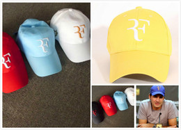 $enCountryForm.capitalKeyWord Australia - Classic 2020 Hot Sale Roger Federer RF Tennis Fans Baseball Cap Mesh Summer Cool Caps Men Women 2020