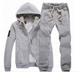 horse suit NZ - Classic Men's Hoodies Sweatshirts Sportswear Man Polo Jacket pants Jogging Jogger Sets Turtleneck Sports Big horse Tracksuits Sweat Suits