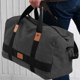 Patchwork Plaid Handbags Australia - Vintage Men Messenger Bag Canvas Patchwork Large Capacity Travel Tote Cross-body Classic Handbag gym yoga running #29670