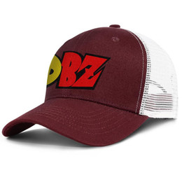 $enCountryForm.capitalKeyWord Australia - Dragon Ball Z DBZ Logo burgundy mens and women trucker cap baseball design designer fashion hats