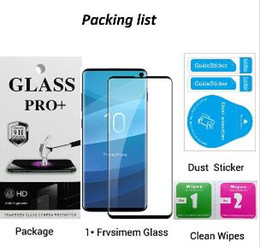 $enCountryForm.capitalKeyWord Australia - New 3D Tempered Glass For Samsung S10 Plus S10e Full Cover Screen Protector Film With Paper Package Stock Free Shipping