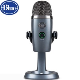 $enCountryForm.capitalKeyWord NZ - Blue Nano snow monster condenser digital USB microphone for podcasting game streaming Skype call YouTube music recording