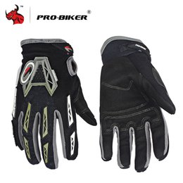 Wholesale motorcycle PRO BIKER Motorcycle Luvas Breathable MTB Bike Bicycle Motocross Off Road Riding Moto Gloves