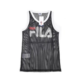 mens designer tank UK - Designer Mens Tank Top with Letters Sport Bodybuilding Brand Gym Clothes Luxury Vests Clothing Hollow Mens Underwear Tops S-XXL