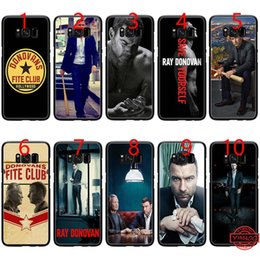 $enCountryForm.capitalKeyWord NZ - Ray Donovan Soft Black TPU Phone Case for Samsung Note 9 8 S8 S9 Plus S6 S7 Edge Cover