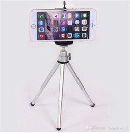 Wholesale Universal Portable Rotatable Mini Monopod Tripod Bracket Extendable Stand Flexible Mount Holder Tripod With Clip for Camera iPhone S