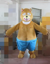 $enCountryForm.capitalKeyWord Australia - Big belly Bear Mascot Costumes Animated theme Yellow Teddy Cospaly Cartoon mascot Character adult Halloween party costume Carnival Costume