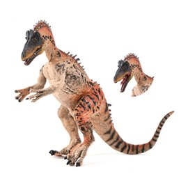 $enCountryForm.capitalKeyWord Australia - Jurassic World Cryolophosaurus Model Solid Dinosaur Toy Collection Model Furnishing Doll For Kid Christmas Gift