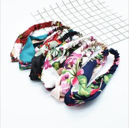Vente en gros bandeaux designer bijoux de cheveux bandeau 20 styles printemps été bandeau de sport bandeau en soie pour femmes NE970-1