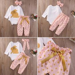 61c579751f9c3 Bebé recién nacido conejo de conejo Top Romper y Pantalones cortos florales  Ropa Outfit dulce y encantador verano Infant Girls Cloth