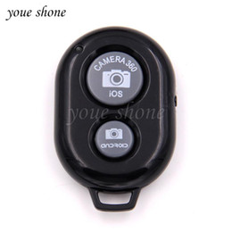 Camera remote shutter release online shopping - 1pcs Bluetooth Remote Control Button Wireless Controller Self Timer Camera Stick Shutter Release Phone Monopod Selfie for ios