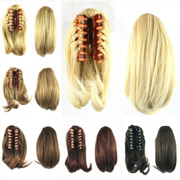 UniqUe hair clips online shopping - Hot Sale Catching Pony Tail High Temperature Wire Lovely Hair Clip Fashion Color Top Unique jooyoo