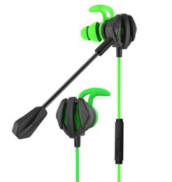 Gaming Pc Ps4 Australia - Wired Gaming Headset Running Earphone 3.5mm Sports Running Headphone Sweatproof Headset with Microphone for Phone PC PS4