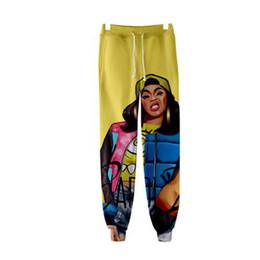 Cartoon 3d Sweatpants UK - 2019 Fashion Cardi B 3D Print Sweatpants Casual Jogger Pants Casual Warm and men Cartoon Slim Hip Hop High Quality Pants
