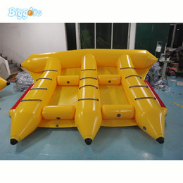 $enCountryForm.capitalKeyWord Australia - Cheap Water Park Games Floating Inflatable Flyfish Boat Water Banana Boat Toys Tube Towable for Surfing