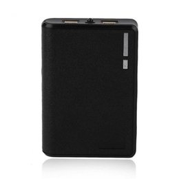 Lightweight Batteries NZ - With Portable 18650 Power Ports Light Lightweight USB For 2A Battery Lithium Dual 1A Phone 5V Bank 20000mAh