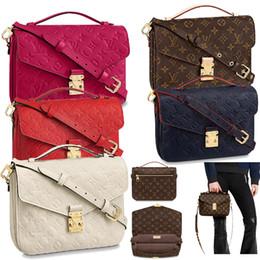 25cm box online shopping - 2019 Brand classic cm messenger bag women genuine leather handbag luxury design iconic bag shoulder bags lady casual tote metisc794