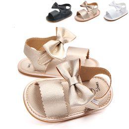 $enCountryForm.capitalKeyWord Australia - Baby cute sandals newborn baby girl bow sandals summer shoes casual fashion girls PU baby sandals