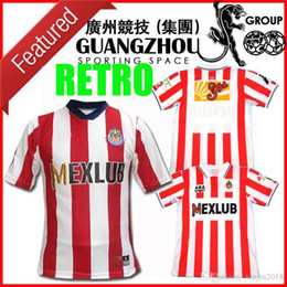 jersey soccer club NZ - 2007 2008 Retro Version Chivas Soccer Jerseys 07 08 LIGA MX Club Chivas de Guadalajara Soccer shirt quality vintage classic Football uniform