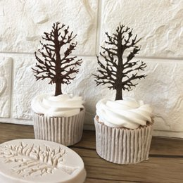 Discount cupcake trees - Useful 3D Tree Silicone Fondant Chocolate Cupcake Cake Decorating Baking Mould DIY Mold