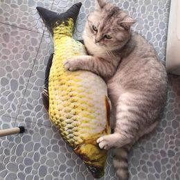 $enCountryForm.capitalKeyWord Australia - Cat Fish Shape Sisal Hemp Toy For Cats Kitten Mint Favor Fish Toys Stuffed Scratch Board Scratching Post Pet Supplies 20 30 40cm