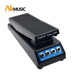 acoustic pedal NZ - Daphon Guitar Stereo Volume Pedal DJ Guitar Effect Pedal 1511A Stereo In and Out free shipping MU0304