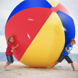 $enCountryForm.capitalKeyWord Australia - Super Big Giant Inflatable Beach Ball Beach Play Sport SummerToy Children Game Party Ball Outdoor Fun Balloon 150cm Diameter