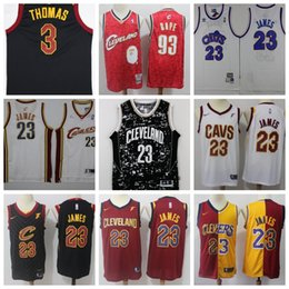 4c934faccff4 Bound Cleveland LeBron 23 James Jersey Cavaliers Kevin 0 Love JR 5 Smith  Basketball Jerseys mens adult size S-xxl