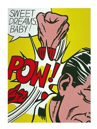 $enCountryForm.capitalKeyWord NZ - Roy Lichtenstein Sweet Dreams Baby ! High Quality Handpainted &HD Print Abstract Pop Art oil painting On Canvas,Home Decor Multi Sizes Ry029