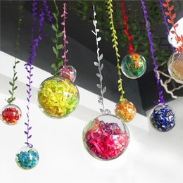 $enCountryForm.capitalKeyWord Australia - Plastic Bath Bomb Mold DIY Craft Clear Plastic Ball Ornaments for Christmas and Party Decorations