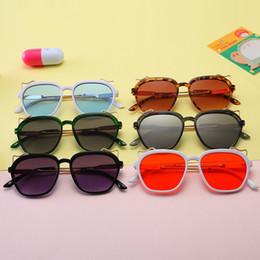 0c4d929b05b Kids Sunglass Baby Sunglasses Girls Boys Sun Glasses Beach Supplies UV400  Protective Eyewear PC+Metal Frame Q50