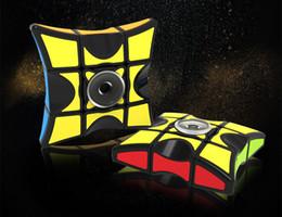 $enCountryForm.capitalKeyWord Australia - Cube Spinner Fidget Cubes Spinning Magic Cube Anti-stress Rotation Spinners Fidget Spinners Novelty Toys for Kids
