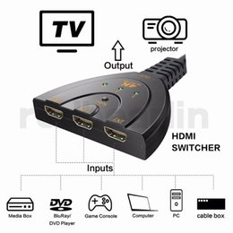 4k dvd 2019 - 3 Port 4K HDMI Splitter Switch 3in1 hdmi adapter 1080P Switcher for HDTV DVD Xbox PS3 PS4 laptop & PC