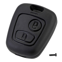 $enCountryForm.capitalKeyWord Australia - 2 Button Remote Key Car Key Fob Case Replacement Shell Cover For Citroen C1 C2 C3 C4 XSARA Picasso For Peugeot 307