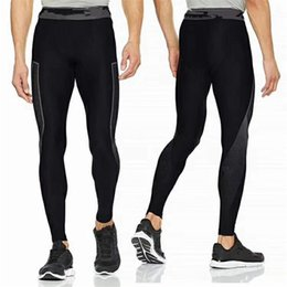 running stretch tight Australia - Men's U&A Compression Tight Quick Dry Leggings Under Base Layer Skinny Stretch Pants Jogging Sports Workout Gym Running Trousers C42401