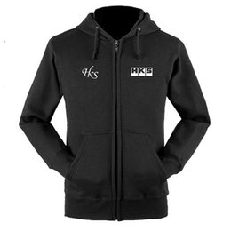 jacket shops Canada - for HKS zipper sweatshirts coat custom 4S shop zipper hoodie jacket Y