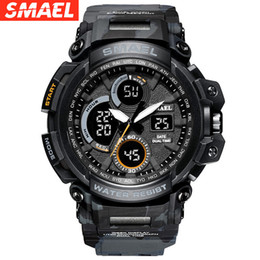 $enCountryForm.capitalKeyWord Australia - SMAEL sports outdoor trend street multi-function men's electronic watch camouflage cross-country military table 1708