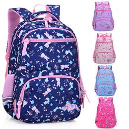 $enCountryForm.capitalKeyWord Australia - Kids Backpack Canvas Printing Rabbit School Bags For Teenage Girls Fox Backpacks Solid Large Capacity Children's Bookbag