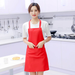 $enCountryForm.capitalKeyWord Australia - Fashion Lady Women Men Adjustable Cotton Linen High-grade Kitchen Apron Defence Sewage Apron Cooking Baking Restaurant Pinafore