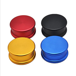$enCountryForm.capitalKeyWord Australia - New Metal Smoke Grinder Double Smoke Grinder Macaron Model Diameter 53mm