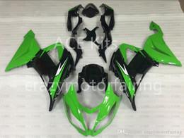 Kawasaki Ninja 636 Black Australia - 3 Free gifts New Motorcycle Fairing kit 100% Fit for KAWASAKI Ninja ZX6R 636 2013 2014 2015 6R 636 13 14 15 ABC fairing Black Green S5