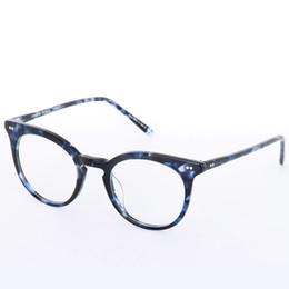 1525b12767 Vintage Men Optical Glasses Frame Oliver Peoples Eyeglasses OV5348 Brand  Frames for Women Round Myopia Eyeglasses Frames with Original Case