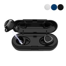 Xi7 TWS Fone De Ouvido Sem FioMini Fone De Ouvido Com Microfone Magnético Esporte Headset Hands-free Estéreo Sem Fio fone de Ouvido vs samsung Engrenagem IconX venda por atacado
