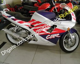 motorcycle fairings cbr f2 Australia - For Honda F2 CBR600 600F CBR600F2 Red White Purple Motorcycle Fairing Kit 91 92 93 94 CBR 600 600F2 1991 1992 1993 1994
