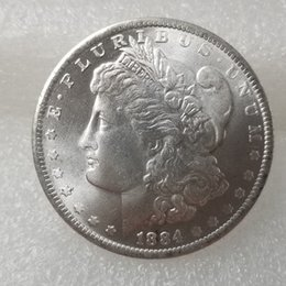 Free Coin Pricing Australia - US Coins morgan dollar 1884-s Promotion Cheap Factory Price nice home Accessories Silver Coins 10 pcs Free shipping