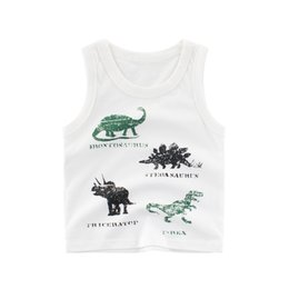 fur manufacturers NZ - Summer Childrenswear New Style 2019 Children Camisole Baby Vest Pure Cotton CHILDREN'S of Clothes Manufacturers Direct Selling
