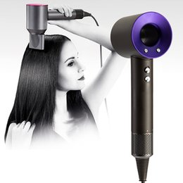 Hair Driers UK - For Dyson Supersonic Hair Dryer Professional Salon Tools Blow Dryer Heat Super Speed Blower Dry Hair Dryers 5colors Christmas Gift