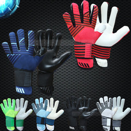 winter football gloves NZ - 2019 new model top quality adults free shipping Latex fabric Professional Soccer football Goalkeeper Gloves without fingersave