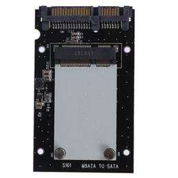 SSd Sata wholeSale online shopping - 50mm Small Board MSATA SSD To quot SATA Drive Converter Adapter Msata Adaptor For Windows2000 XP For Vista Linux Mac
